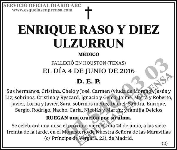 Enrique Raso y Diez Ulzurrun